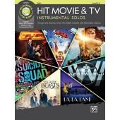 HIT MOVIE & TV INSTRUMENTAL SOLOS VIOLONCELLE