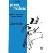 GLOVER D.C. PIANO TECHNIC LEVEL 1