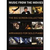 BIG SCREEN COLLECTION MUSIC FROM THE MOVIES SOLO PIANO