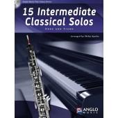 15 INTERMEDIATE CLASSICAL SOLOS HAUTBOIS