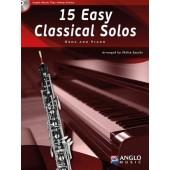 15 EASY CLASSICAL SOLOS HAUTBOIS