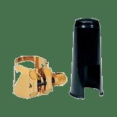 LIGATURE SAXOPHONE TENOR VANDOREN OPTIMUM V16 AVEC COUVRE BEC PLASTIQUE