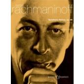 RACHMANINOFF S. DANSES SYMPHONIQUES OP 45 2 PIANOS
