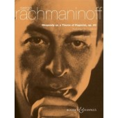 RACHMANINOV S. RHAPSODY ON A THEME OF PAGANIINI  2 PIANOS