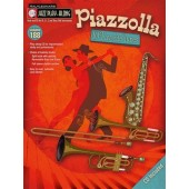 JAZZ PLAY ALONG VOL  188 PIAZZOLLA A. 10 FAVORITE TUNES