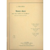 SELLNER J. 12 DUOS VOL 3 HAUTBOIS/SAXO