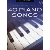 HEUMANN H.G. PIANO CLUB 40 PIANO SONGS