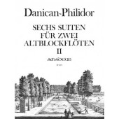 DANICAN-PHILIDOR P. SUITES VOL 2 2 FLUTES A BEC ALTO