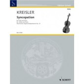KREISLER F. SYNCOPATION VIOLON