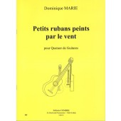 MARIE D. PETITS RUBANS PEINTS PAR LE VENT GUITARES