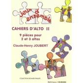 JOUBERT C.H. CAHIERS D'ALTO 2 ALTOS