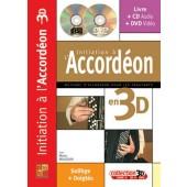 MAUGAIN M. INITIATION A L'ACCORDEON EN 3D