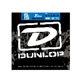 JEU DE CORDES BASSE DUNLOP STRINGS DBN45130 FILE ROND NICKEL 45/130