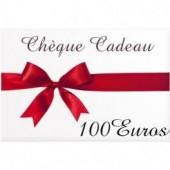 CHEQUE CADEAU DE 100€