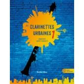 VERET E. CLARINETTES URBAINES 1 CLARINETTE