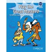 PLAY THE GREAT MASTERS FLUTE A BEC