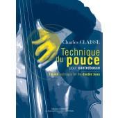 CLAISSE C. TECHNIQUE DU POUCE CONTREBASSE