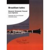 NAZARET / GISMONTI / PASCOAL BRAZILIAN TALES CLARINETTE SIB - COR DE BASSET - CLARINETTE BASSE