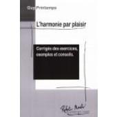 PRINTEMPS G. L'HARMONIE PAR PLAISIR CORRIGES