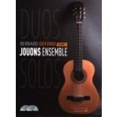 DEFOND B. JOUONS ENSEMBLE VOL 1 GUITARES