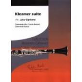 KLEZMER SUITE QUATUOR DE CLARINETTES