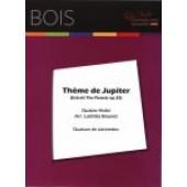 HOLST G. THEME DE JUPITER QUATUOR DE CLARINETTES