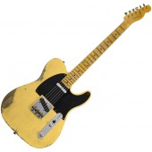 FENDER CUSTOM SHOP 1952 HEAVY RELIC TELECASTER AGED NOCASTER BLONDE MAPLE