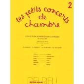 FEUILLARD L.R. LES PETITS CONCERTS DE CHAMBRE VOL 2