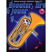 ECOUTER LIRE JOUER VO 1 BARYTON/EUPHONIUM/SAXHORN CLE DE FA