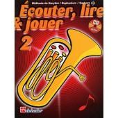 ECOUTER LIRE JOUER VOL 2 BARYTON/EUPHONIUM/SAXHORN