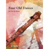 STRATFORD D. FOUR OLD DANCES QUATUOR FLUTES A BEC