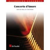 DE HAAN J. CONCERTO D'AMORE ACCORDEONS