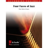 SCHAARS P.K. FOUR FACES OF JAZZ ACCORDEONS
