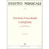FRESCOBALDI G. CANZONI CANTO SOLO VIOLON