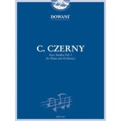 CZERNY C. 13 EASY STUDIES VOL 1 PIANO AND ORCHESTRA