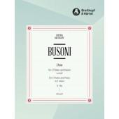 BUSONI F. DUO K 156 FLUTES