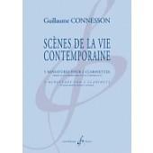 CONNESSON G. SCENES DE LA VIE CONTEMPORAINE CLARINETTES