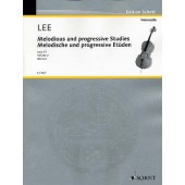 LEE S. MELODIOUS AND PROGRESSIVE EXERCISES OP 131 2 VIOLONCELLES