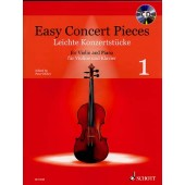 EASY CONCERT PIECES VOL 1 VIOLON