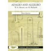 MOZART W.A. ADAGIO AND ALLEGRO BRASS QUARTET