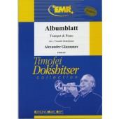 GLAZOUNOV A. ALBUMBLATT TROMPETTE