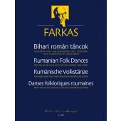FARKAS F. DANSES  FOLKLORIQUES ROUMAINES CLARINETTE/VIOLON/ALTO/FLUTE