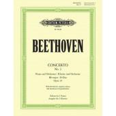 BEETHOVEN L.V. CONCERTO N°2 OP 19 PIANOS