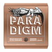 JEU DE CORDES ERNIE BALL PARADIGM EXTRA LIGHT PHOSPHORE BRONZE 10-50