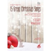 EUROPE FOR BEGINNERS: 15 GREAT CHRISTMAS SONGS FLUTES OU VIOLONS OU HAUTBOIS OU FLUTES A BEC