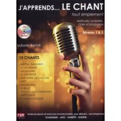 BERTOLI I. J'APPRENDS LE CHANT... TOUT SIMPLEMENT