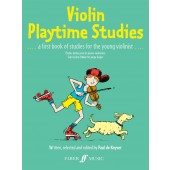 KEYSER (DE) P. VIOLIN PLAYTIME STUDIES VIOLON