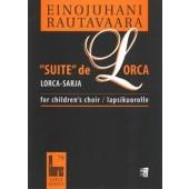 RAUTAVAARA E. SUITE DE LORCA CHANT