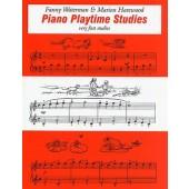 WATERMAN F./HAREWOOD M. PIANO PLAYTIME STUDIES