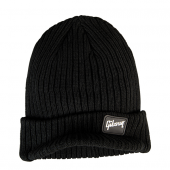 BONNET GIBSON BEANIE RADAR KNIT BLACK